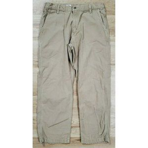 Carhartt Mens B175 Hamilton Tan Pants Size 36 x 30